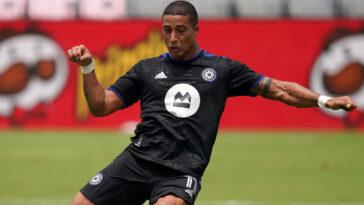 Erik Hurtado, attaquant du CF Montréal, a été vendu par le club après avoir refusé de se faire vacciner. Icon Sport