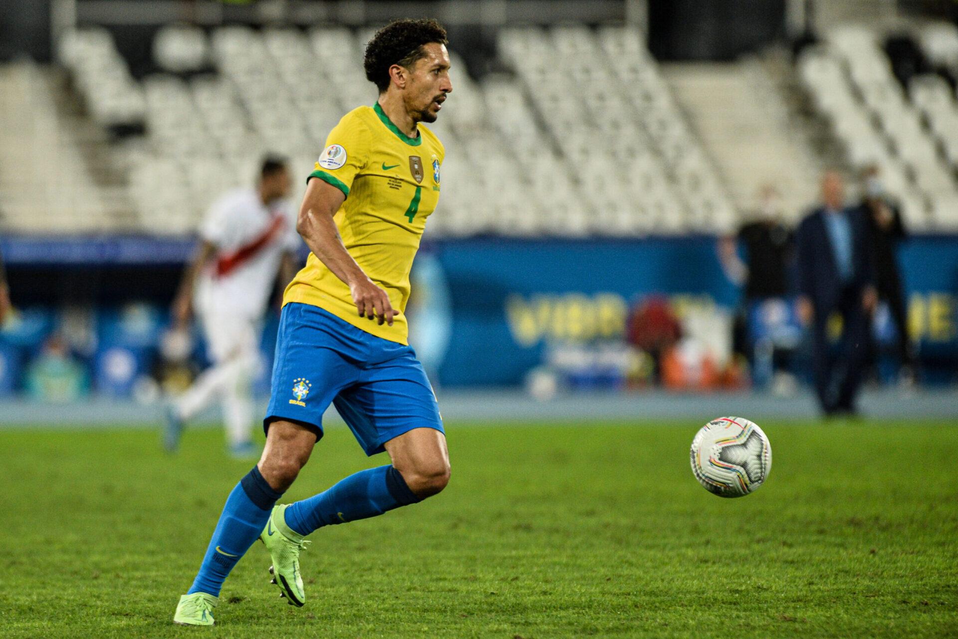 Marquinhos, cadre de la sélection brésilienne (iconsport)