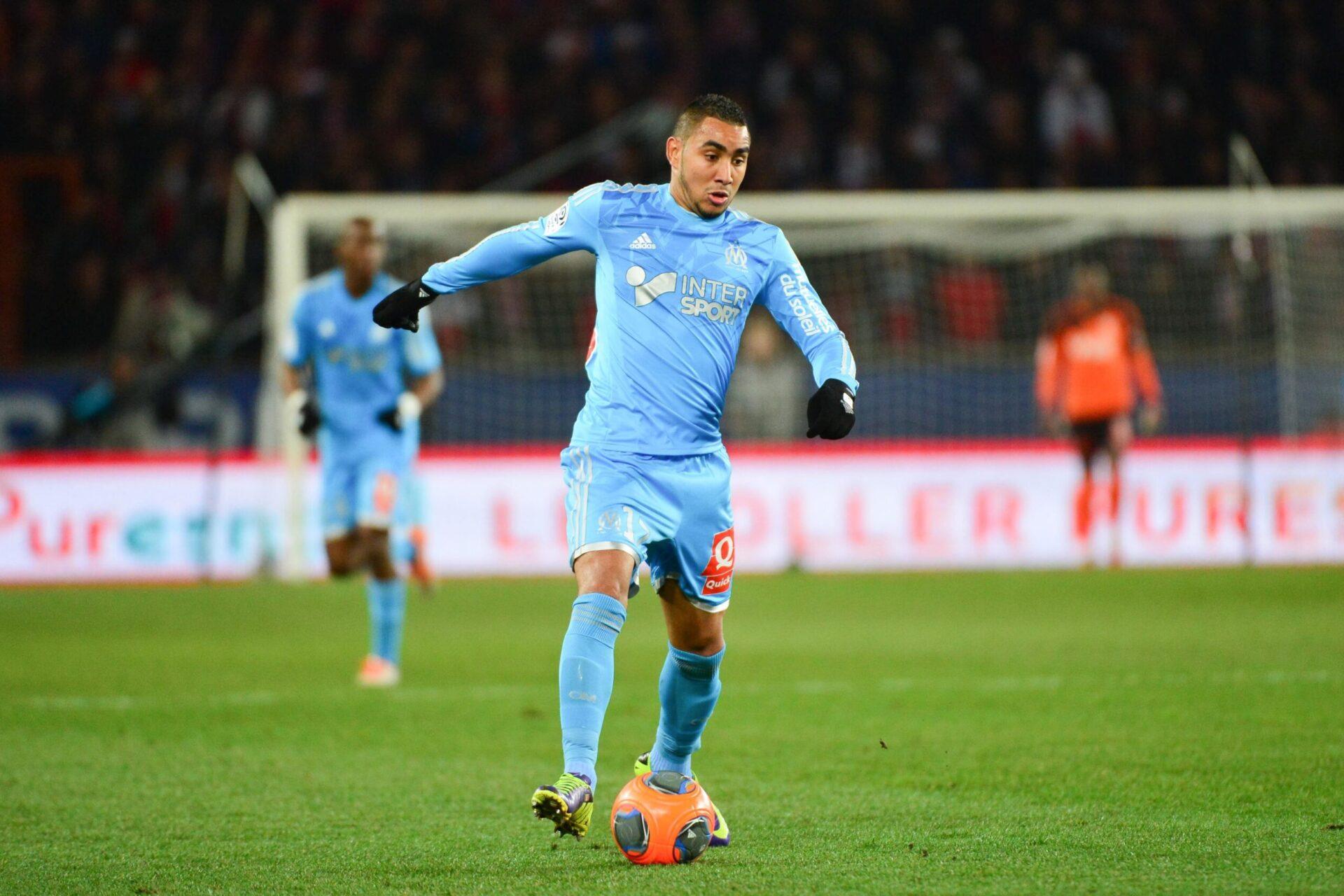 Dimitri Payet intégrant le club de Marseille (Icon Sport)