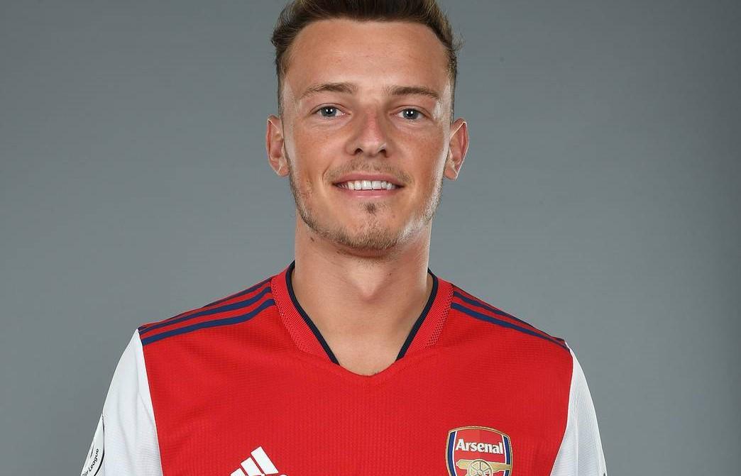 Ben White sous ses nouvelles couleurs (Arsenal.com)
