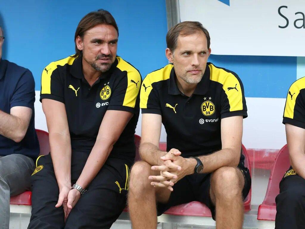 Les relations entre Daniel Farke et Thomas Tuchel ont sans doute joué pour le prêt de Billy Gilmour (Sport.de)