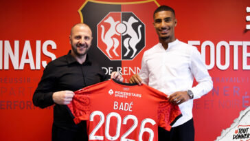 Loïc Badé est Rennais. Comme attendu, le jeune lensois a signé pour 5 saisons en faveur du club breton (iconsport)