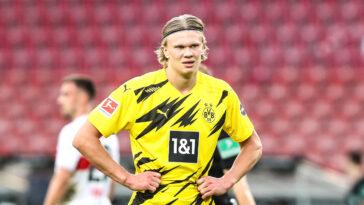 Chelsea a soumis une première offre informelle au Borussia Dortmund pour Erling Haaland. Le BvB n'a pas donné suite à la proposition des Anglais et compte conserver le Norvégien cet été (iconsport)
