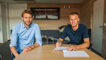 Mitchel Bakker est officiellement un joueur du PSG (Site Officiel Bayer 04)