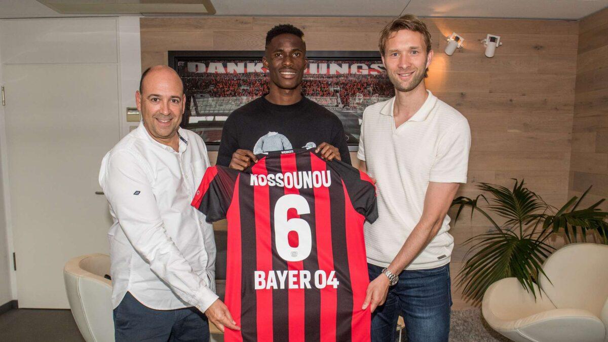 Odilon Kossounou s'est engagé avec le Bayer Leverkusen. Icon Sport