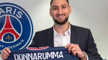 Gianluigi Donnarumma a signé jusqu'en 2026 au PSG. Icon Sport