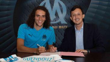 Mattéo Guendouzi est officiellement prêté à l'OM. Le milieu international espoirs français (22 ans) va retrouver la Ligue 1, 4 ans après avoir quitté Lorient (OM)
