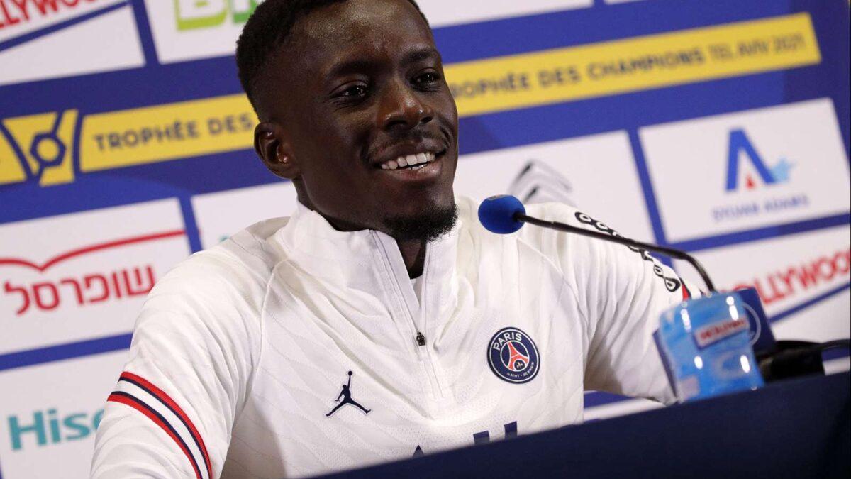 Idrissa Gueye était en conférence de presse avant la finale du Trophée des champions face au LOSC. PSG