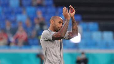 Après avoir été l'adjoint de Roberto Martinez pendant l'Euro 2020, Thierry Henry quitte de nouveau la sélection belge. L'ancien buteur des Bleus veut reprendre sa carrière d'entraîneur principal cet été (iconsport)
