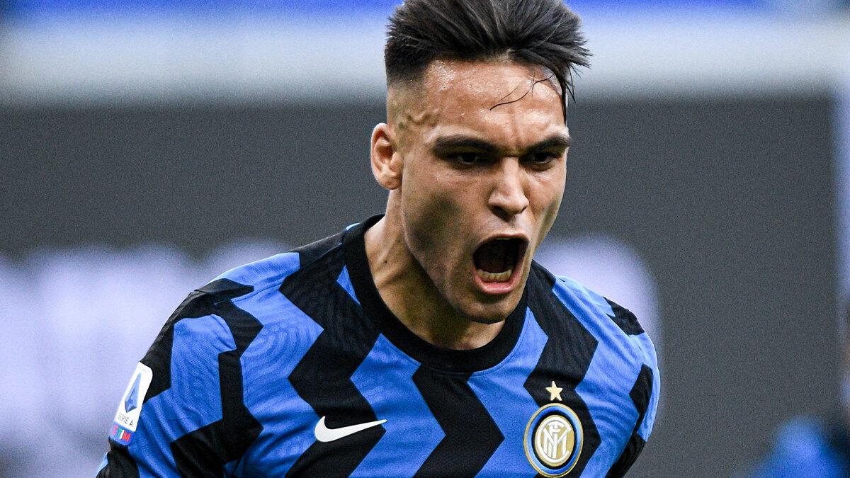 Champion d'Italie avec l'Inter Milan et vainqueur de la Copa America avec l'Argentine cet été, Lautaro Martinez est l'objet d'un intérêt d'Arsenal (iconsport)