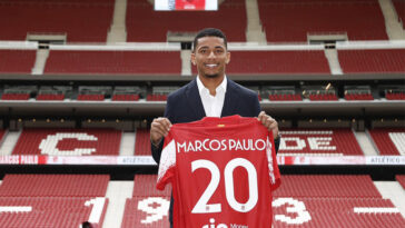 Libre, Marcos Paulo a signé pour 5 saisons en faveur de l'Atlético de Madrid. L'attaquant polyvalent arrive de Fluminense (Atlético de Madrid)