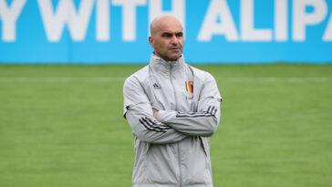 Roberto Martinez devrait bien rester sur le banc de la Belgique malgré la déception de l'Euro 2020. Le sélectionneur conserve la confiance de ses dirigeants et le soutien de ses joueurs (iconsport)
