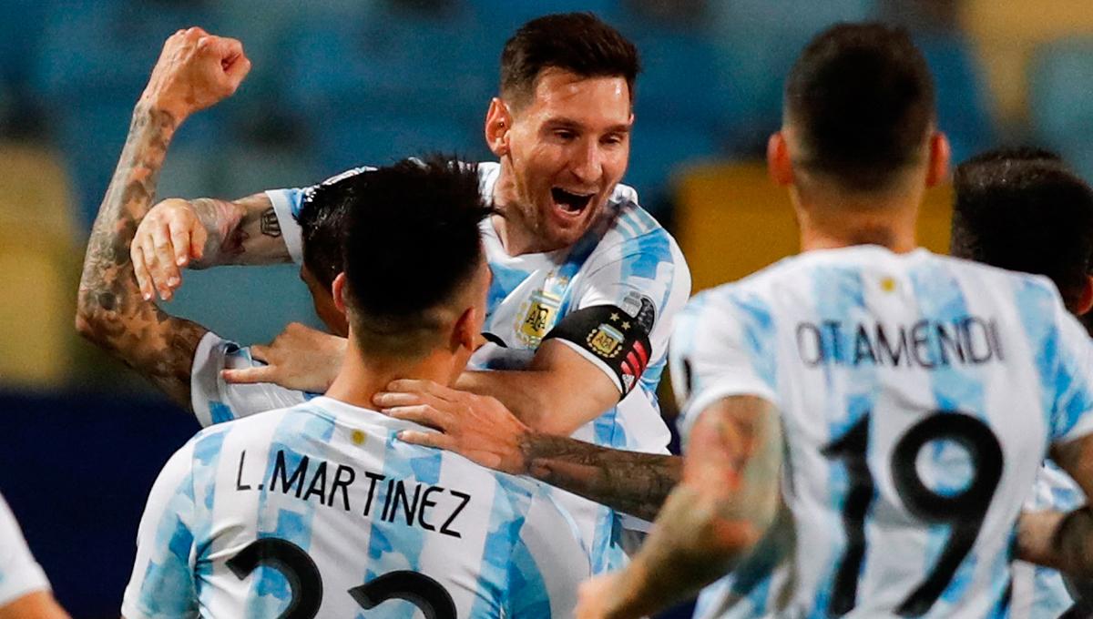 Lionel Messi a porté l'Argentine en quart de finale de la Copa America. Le capitaine de Lionel Scaloni a délivré deux passes décisives et inscrit un coup-franc pour envoyer son pays en demi-finale (iconsport)