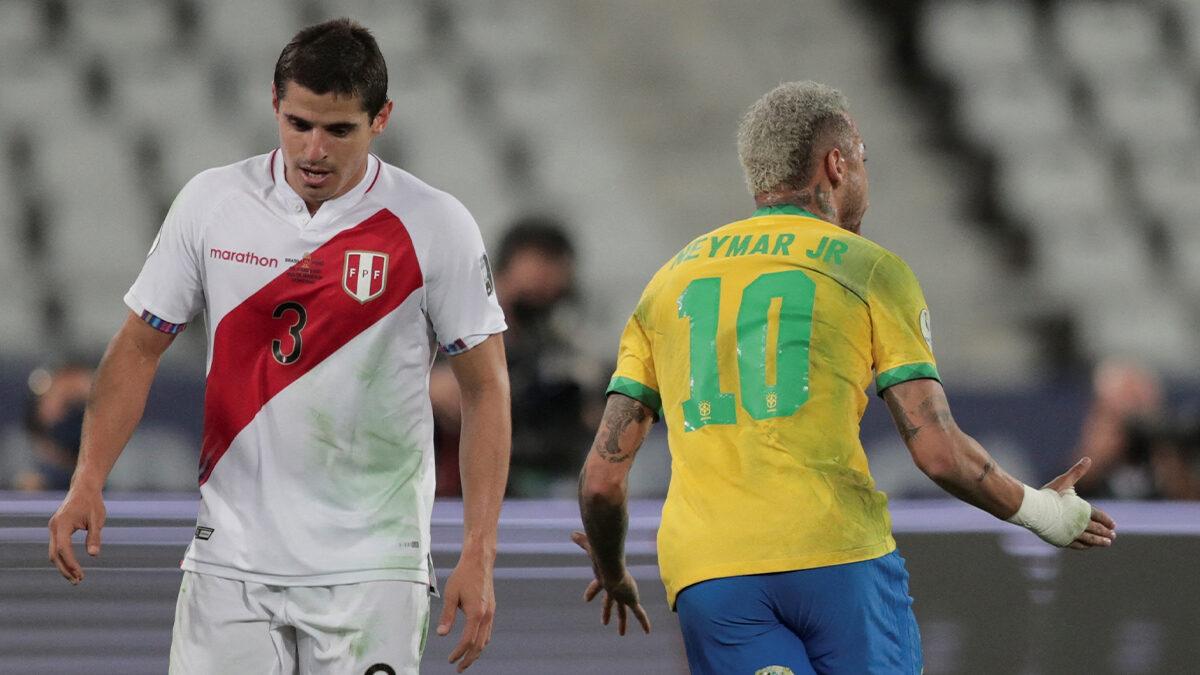 Passeur décisif pour Paqueta, Neymar a encore brillé avec le Brésil cette nuit. Le Parisien disputera la finale de la Copa America et visera son premier trophée majeur en sélection (iconsport)