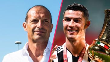 Massimiliano Allegri a abordé le nouveau rôle de Cristiano Ronaldo à la Juventus, lors de sa conférence de presse de présentation ce mardi 27 juillet. Icon Sport