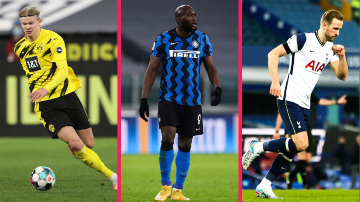 Il semble très compliqué pour Chelsea d'aller chercher Haaland, Lukaku ou Kane (iconsport)