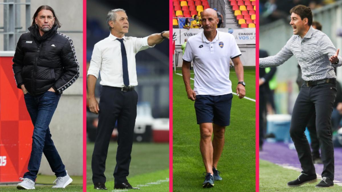 Martin Schmidt, Marcel Koller, Peter Zeidler et René Weiler  sont en concurrence avec Wenger pour entraîner la Suisse (iconsport)