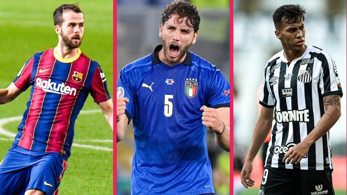 La Juventus cible Miralem Pjanic, Manuel Locatelli et Kaio Jorge. Icon Sport