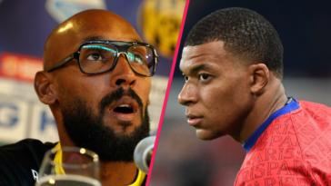 Nicolas Anelka a invité Kylian Mbappé à quitter le PSG. Icon Sport