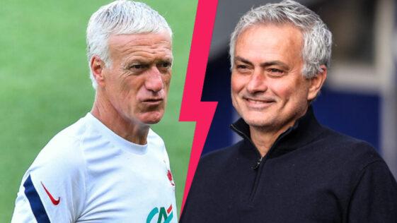 Après avoir mis la pression aux Bleus avant l'Euro, José Mourinho a critiqué l'attitude des Français et la gestion de Didier Deschamps du match face à la Suisse (iconsport)