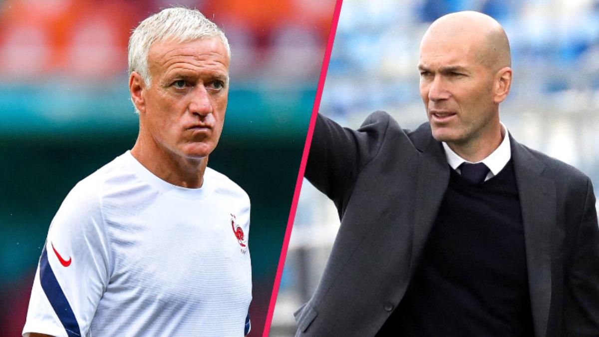 Candidat naturel à la succession de Didier Deschamps, Zinédine Dizane est prêt à attendre la fin de la Coupe du monde 2022 pour prendre la suite de son ancien coéquipier (iconsport)