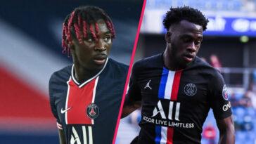 Arnaud Kalimuendo pourrait être la solution du PSG face au blocage du dossier Moise Kean. Alors que l'Italien est retenu par Rafael Benitez à Everton, le titi parisien pourrait rester au PSG en 2021-2022 (iconsport)