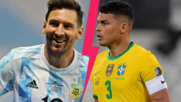 Thiago Silva redoute particulièrement Lionel Messi avant la finale de la Copa América entre le Brésil et l'Argentine, dimanche 11 juillet à 21h. Icon Sport