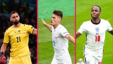 Donnarumma, Schick et Sterling prennent logiquement place dans notre équipe type de l'Euro 2020. Icon Sport