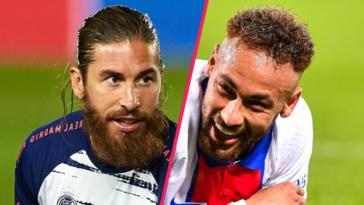 Sergio Ramos confirme que Neymar a fait le forcing pour qu'il signe au PSG (Photo by Icon Sport)