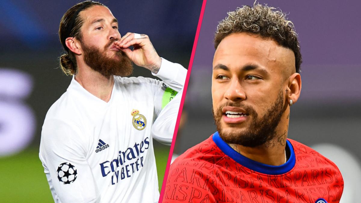 Sergio Ramos et Neymar sont amis de longue date. Icon Sport
