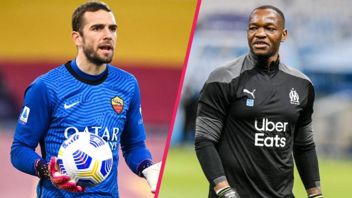 Pau López et Steve Mandanda seront mis en concurrence la saison prochaine à Marseille selon la volonté de l'entraîneur Jorge Sampaoli (iconsport)