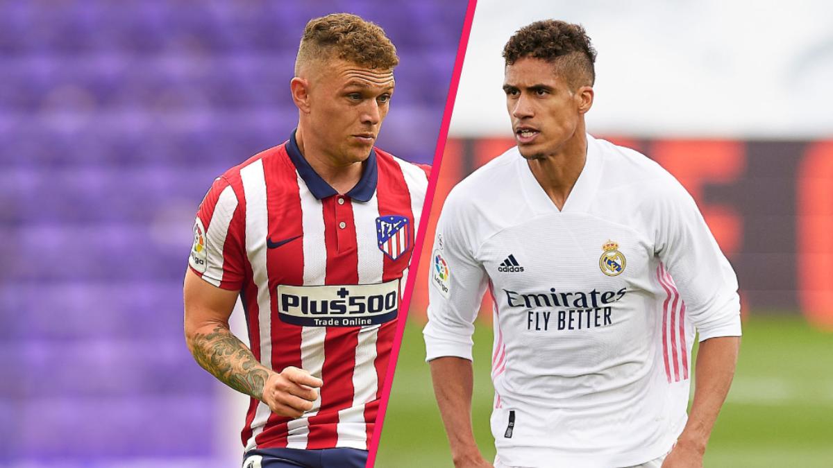 Manchester United serait en passe de trouver un double accord avec le Real et l'Atlético pour les transferts de Varane et Trippier (iconsport)