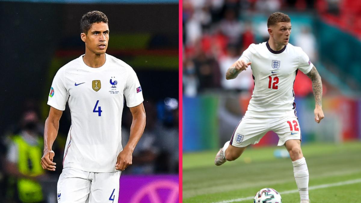 Raphaël Varane et Kieran Trippier, le coup double de Manchester United ? Icon Sport
