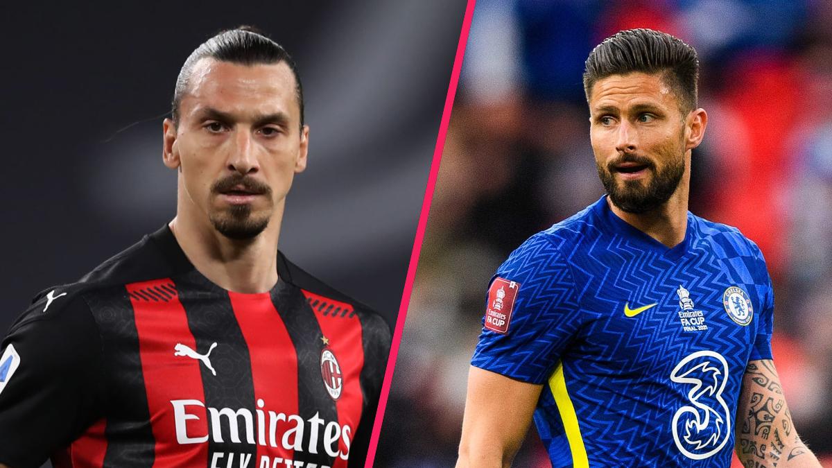 Olivier Giroud n'a pas trop de souci à se faire : Zlatan Ibrahimović, le n°1 au poste d'avant-centre à l'AC Milan, a davantage enchaîné les blessures que les matchs la saison dernière. Icon Sport