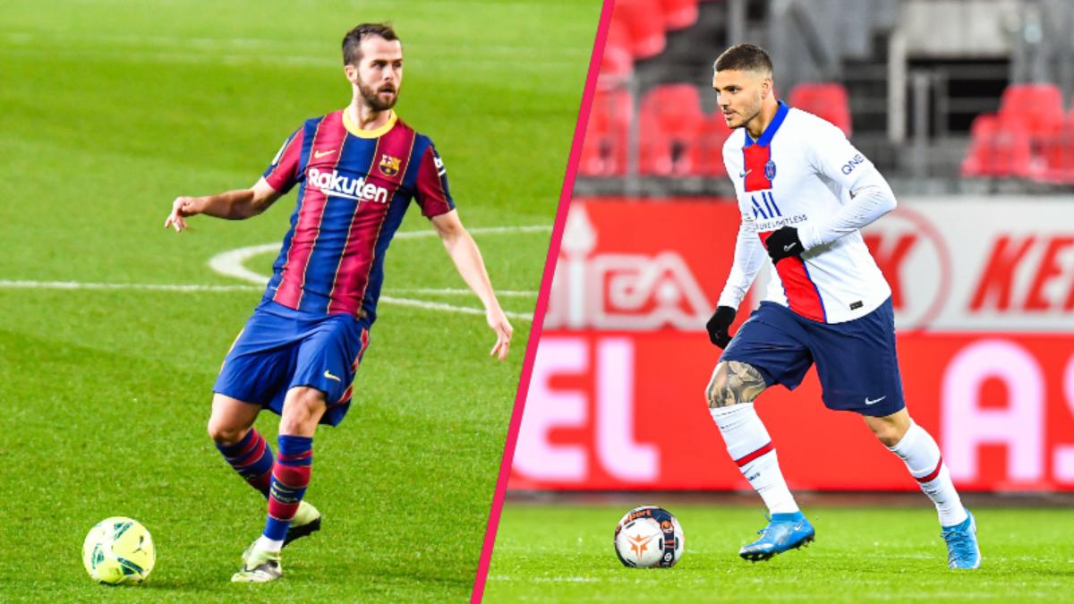 La Juve aurait aussi l'espoir d'attirer Miralem Pjanić et Mauro Icardi (iconsport)