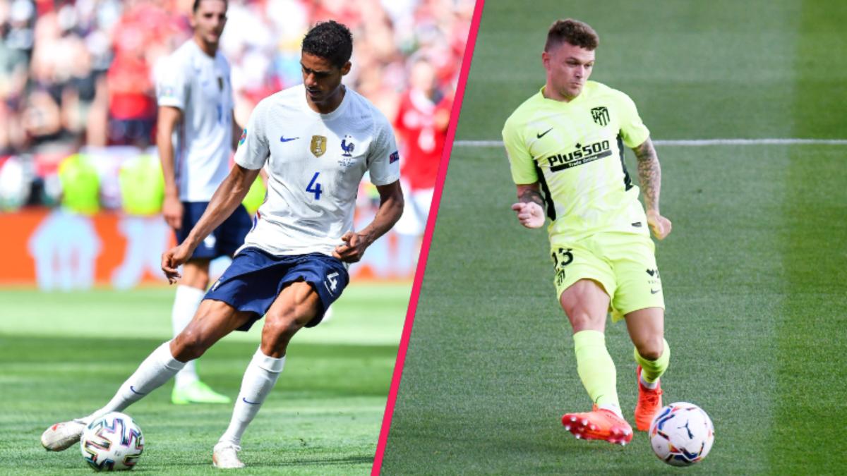 United voudrait attirer en priorité Raphaël Varane et Kieran Trippier (iconsport)