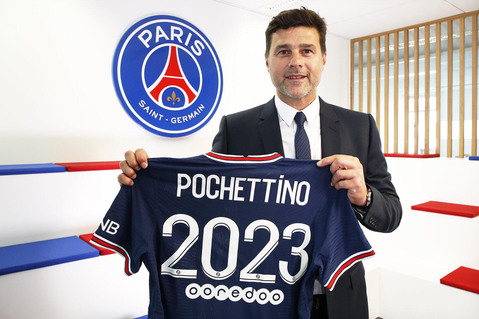 Mauricio Pochettino est maintenant lié au PSG jusqu'en 2023 ! (iconsport)