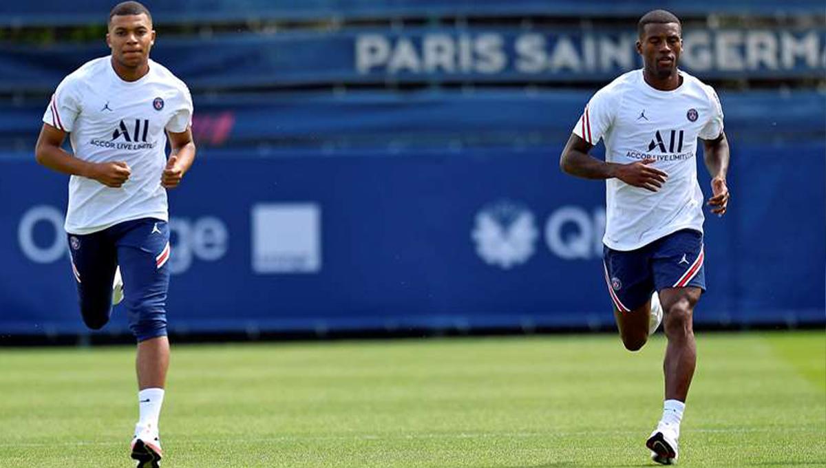 Pas encore apparus avec Paris en préparation, Kylian Mbappé et Georginio Wijnaldum pourraient jouer dès dimanche contre Lille dans le cadre du Trophée des champions (PSG)