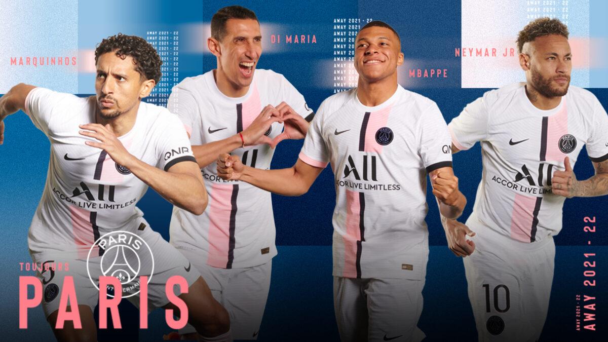 Le nouveau maillot extérieur du PSG (PSG.FR)