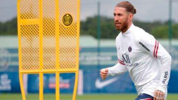 Sergio Ramos va faire son retour à l'entrainement (iconsport)
