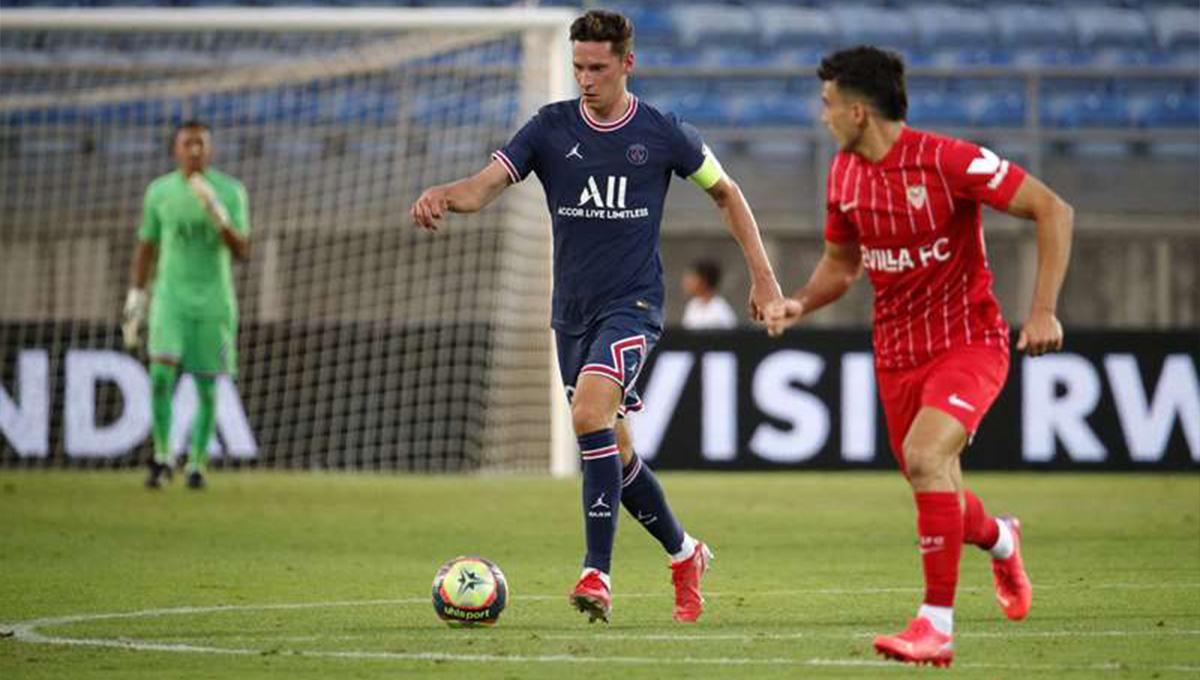 Avec Julian Draxler, capitaine en début de match, et un groupe encore très rajeuni, Paris a obtenu un nul contre Séville ce mardi en clôture de sa préparation d'avant-saison (PSG)