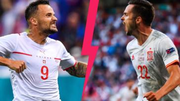 La Suisse et l'Espagne s'affronteront ce vendredi soir (iconsport)
