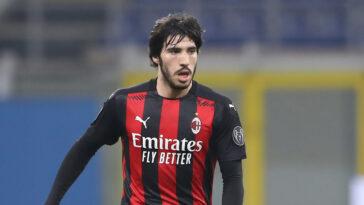 Sandro Tonali reste à l'AC Milan. Prêté par Brescia la saison dernière, le milieu italien de 21 ans s'est engagé pour 5 saisons (iconsport)