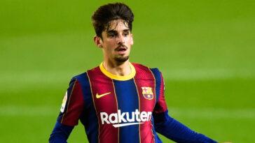 Après une saison au FC Barcelone, Francisco Trincão quitte la Catalogne. L'international portugais rejoint Wolverhampton pour une saison en prêt avec option d'achat (iconsport)