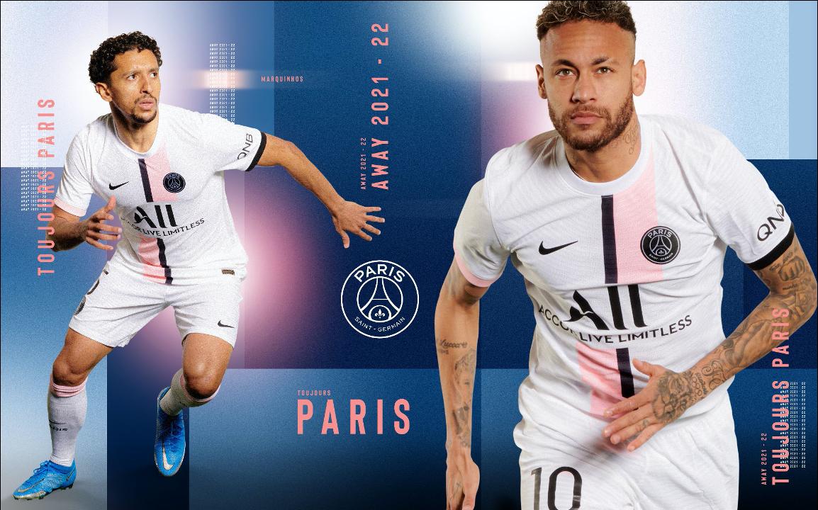 Le PSG a dévoilé son nouveau maillot (PSG.FR)