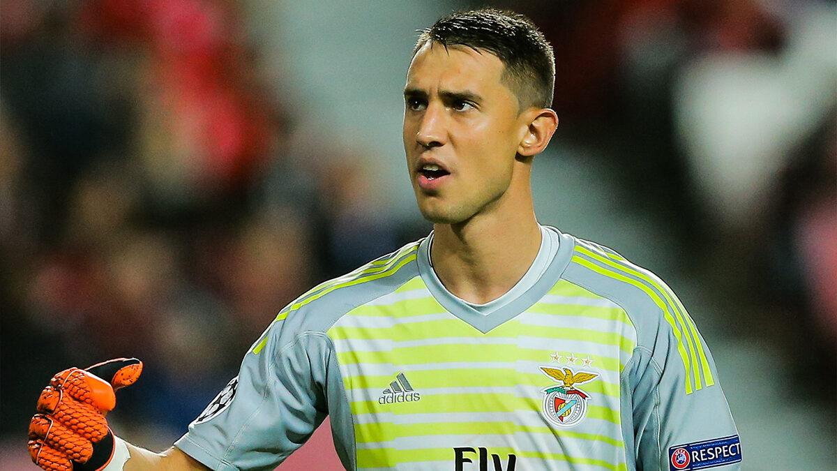 Odysséas Vlachodimos sera-t-il le futur gardien de Lille ? L'international grec de Benfica est en tout cas la nouvelle priorité des Dogues, en discussions avec le club de la capitale portugaise (iconsport)