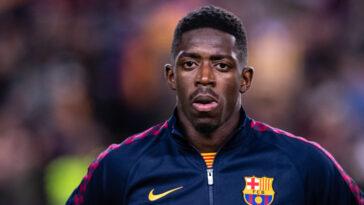 Ousmane Dembélé sous les couleurs du Barça (Icon Sport)
