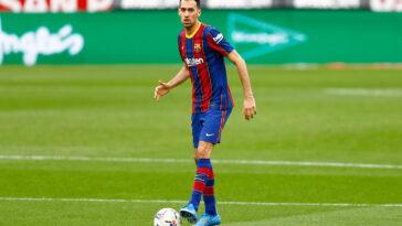 Sergio Busquets portant le maillot du Barça (Icon Sport)