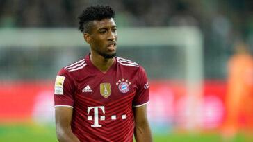 Kingsley Coman portant le maillot de Bayern Munich (Icon Sport)