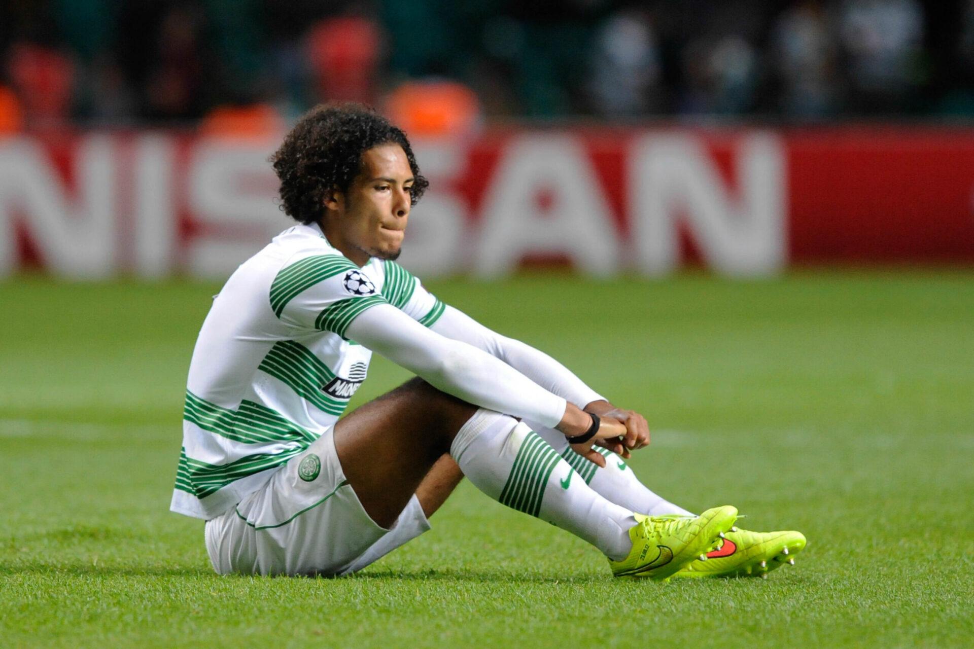 Virgil Van Dijk sous les couleurs de Celtic Glasgow (Icon Sport)